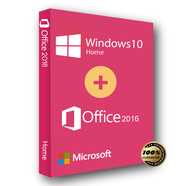 Windows 10 Home and Office 2016